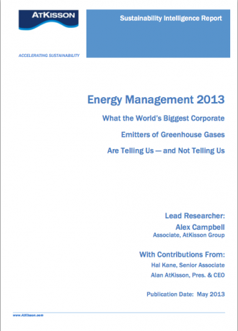 Energy Management 2013