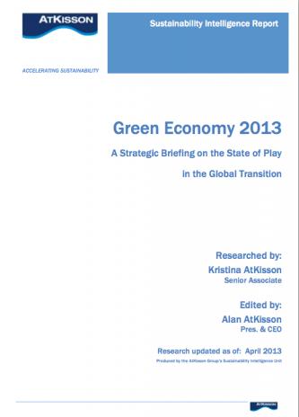 Green Economy 2013