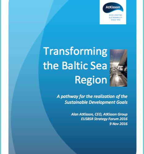 Alan AtKisson's presentation at Strategy Forum 2016