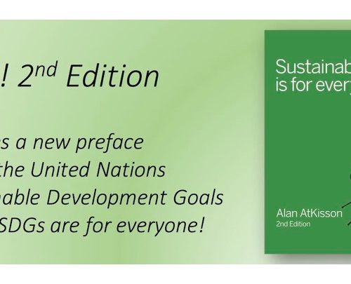 In the SDG era, Sustainability is truly for everyone